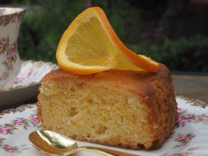 bizcocho de naranja y zanahoria