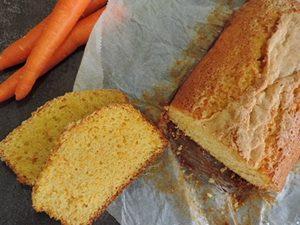 receta bizcocho de zanahoria y yogur